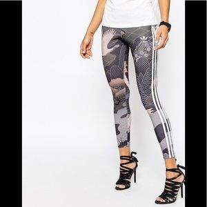 Adidas original leggings Rita Ora small
